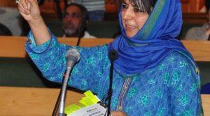 Jammu and Kashmir Chief Minister Mehbooba Mufti. (Photo: IANS)